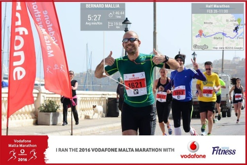 Pic2Go Performance Photos at Malta Marathon