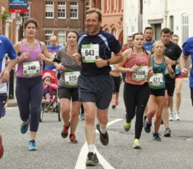 Pic2Go at Shrewsbury Half Marathon